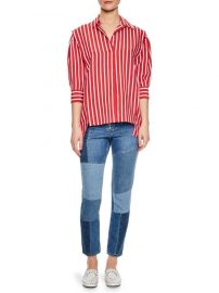 Sandro - Cherie Striped Shirt at Saks Fifth Avenue