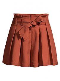 Sandro - Eddi Paperbag Waist Shorts at Saks Fifth Avenue