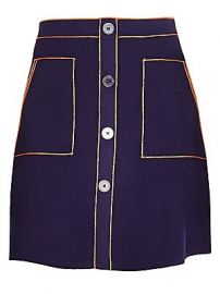 Sandro - Helo  se A-Line Mini Skirt at Saks Fifth Avenue