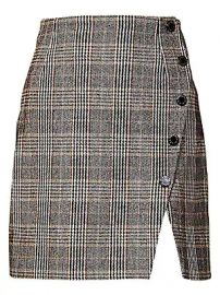 Sandro - Nona Plaid Mini Skirt at Saks Fifth Avenue