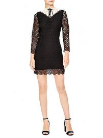 Sandro - Notting Hill Cristina Lace A-Line Dress at Saks Fifth Avenue