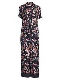 Sandro - Oliver Floral Jumpsuit at Saks Fifth Avenue