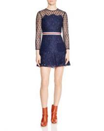 Sandro Alicia Lace Mini Dress Women - Bloomingdale s at Bloomingdales