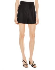 Sandro Alon Snap Detail Mini Shorts Women - Bloomingdale s at Bloomingdales