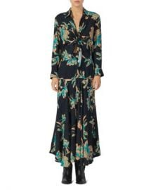 Sandro Blaire Floral Maxi Dress Women - Bloomingdale s at Bloomingdales