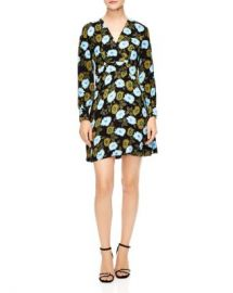 Sandro Brut Floral Dress Women - Bloomingdale s at Bloomingdales