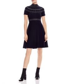 Sandro Bugle Embellished Dress Women - Bloomingdale s at Bloomingdales