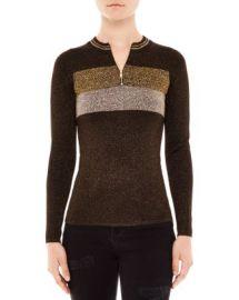 Sandro Dora Shimmer Knit Sweater at Bloomingdales