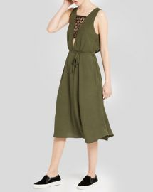 Sandro Dress - Religione Deep Plunge at Bloomingdales