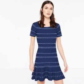 Sandro Elasticated Knit Dress at Sandro