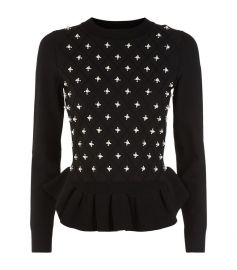 Sandro Embellished Sweater at Harrods