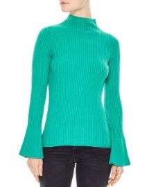 Sandro Estelle Flare-Sleeve Cable Knit Sweater Women - Bloomingdale s at Bloomingdales