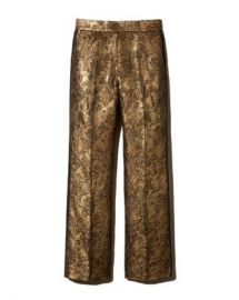 Sandro Goldy Brocade Cropped Pants Women - Bloomingdale s at Bloomingdales