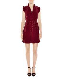 Sandro Jasmine Dot Print Dress at Bloomingdales