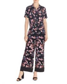 Sandro Olivier Floral-Print Jumpsuit Women - Bloomingdale s at Bloomingdales