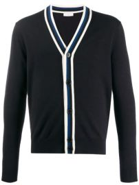 Sandro Paris Contrast long-sleeve Cardigan - Farfetch at Farfetch