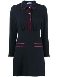 Sandro Paris Two Tone Shirt Dress - Farfetch at Farfetch