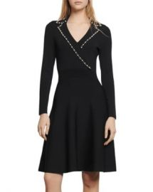 Sandro Suity Embellished A-Line Mini Dress Women - Bloomingdale s at Bloomingdales