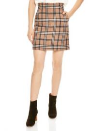 Sandro Sunset Plaid A-line Skirt Women - Bloomingdale s at Bloomingdales