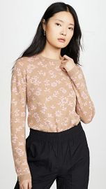 Sandy Liang Floral Sweater at Shopbop