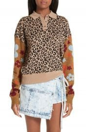 Sandy Liang Paw Paw Polo Sweater at Nordstrom