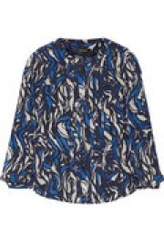 Sanford printed silk top at The Outnet