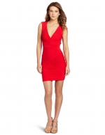 Santana's red dress by BCBG at Amazon