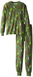 Sara's Prints Big Boysand39 Classic Two-Piece Long Pajamas Infant And Toddler Pajama Sets Clothing dinosauric at Amazon