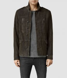 Sargent Leather Blazer at All Saints