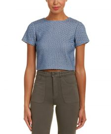 Sarina Crop Top by Alice + Olivia at Bluefly