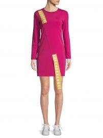 Sash Long-Sleeve Mini Dress at Saks Off 5th