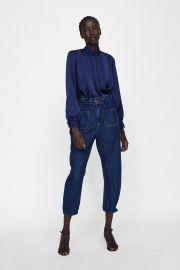 Satin Blouse by Zara at Zara
