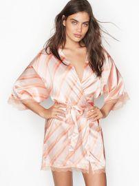 Satin Lace Kimono at Victorias Secret