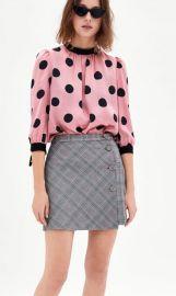 Satin Polka Dot Blouse by Zara at Zara