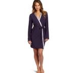 Satin trim robe by Calvin Klein at Amazon
