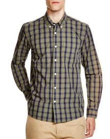 Saturdays Surf NYC Crosby Check Regular Fit Button Down Shirt at Bloomingdales