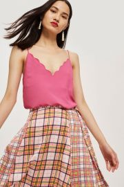 Scallop Camisole Top at Topshop
