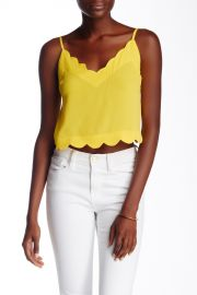 Scallop Edge Cami at Nordstrom Rack