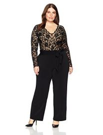 Scallop Lace Palazzo Jumpsuit at Amazon
