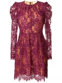 Scalloped Floral Lace Dress by MICHAEL Michael Kors at Farfetch