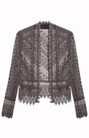 Scalloped Lace Jacket at Bcbg