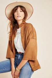 Scarlett Sueded Kimono at Anthropologie