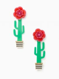 Scenic Route Cactus Statement Earrings by Kate Spade at Kate Spade