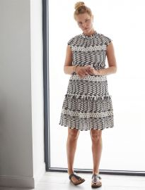 Schiffli Maternity Dress - Shimla Collection  at A Pea in the Pod