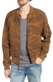 Schott MA-1 Cotton Bomber Jacket at Nordstrom