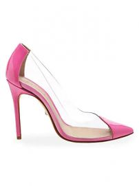 Schutz - Cendi Transparent Point Toe Pumps at Saks Fifth Avenue