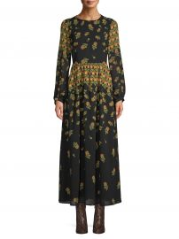 Scoop Blouson Sleeve Maxi Dress by Scoop at Wallmart at Walmart