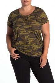 Scoop Neck Camo T-Shirt at Nordstrom Rack