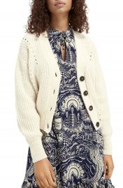 Scotch  amp  Soda Chunky Cardigan   Nordstrom at Nordstrom