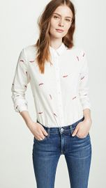 Scotch  amp  Soda Maison Scotch Chilli Pepper Button Down at Shopbop